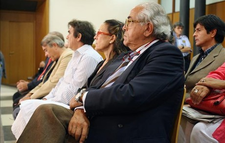 El doctor Carlos Morn, en el juicio.