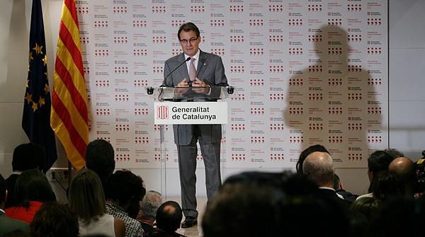 """Mas: """"La reunión con Rajoy no ha ido bien"""""""