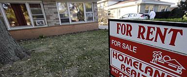 Una casa en venta en Skokie (Illinois). AP