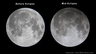 Un eclipsi penumbràtic enfosquirà lleument la lluna aquesta nit