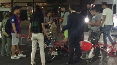 Mor un ciclista arran d'un accident a Sant Adrià de Besòs