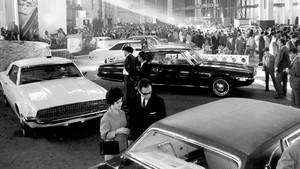 1968 salon automovil barcelona estand-ford