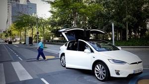 Vehículo eléctrico Tesla