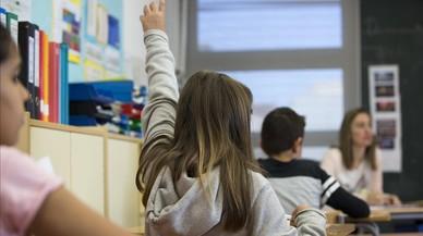 Las nuevas notas sin cifras sorprenden a familias y maestros