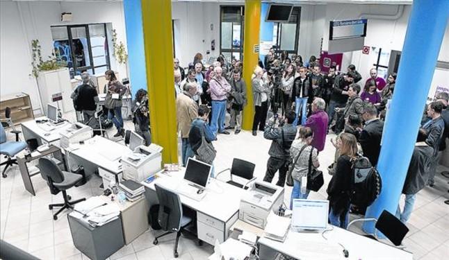 Menos gasto social y ahorro en personal salud educaci n y for Oficinas soc barcelona
