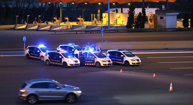 Localitzat a Figueres el cotxe que es va escapar del control a la Jonquera