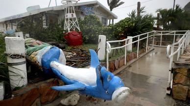 Destrozos en Fort Lauderdale.