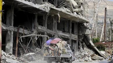 EEUU bombardea una milicia aliada de Asad en Siria