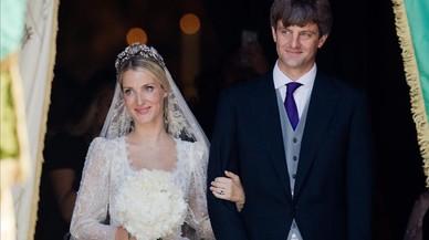 Ernesto Augusto de Hannover se ha casado por la iglesia pese a la oposición paterna