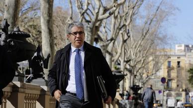 Picabaralla entre Homs i el fiscal a la sortida del judici del 9-N