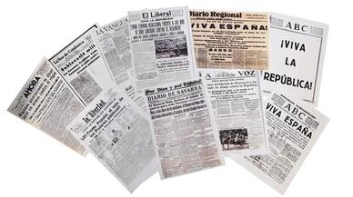 Els primers dies del cop d'Estat del 1936, segons la premsa de l'època