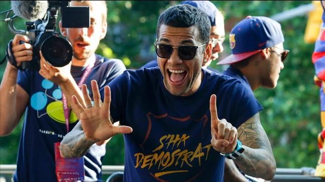 Alves s'acomiada