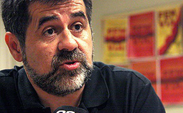 """Para el presidente de la ANC, las """"amenazas"""" del Estado buscan sembrar """"miedo"""" en Catalunya ante el proceso soberanista."""