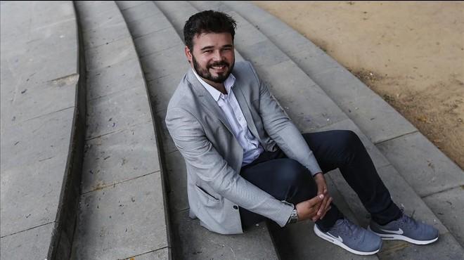 """Gabriel Rufián: """"Jo a Juan Carlos Girauta el convidaria a un cafè"""""""