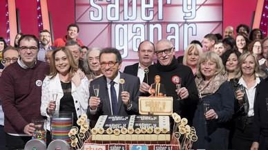 'Saber y ganar' celebra els 20 anys en directe