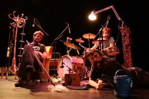 El grupo Bufa&Sons, artífice de los conciertos de Tubs del Món.