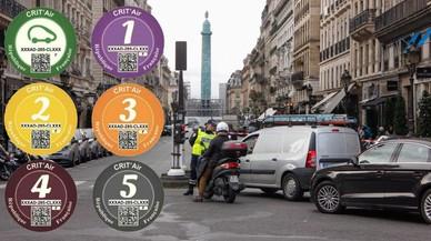 París ja obliga que tots els vehicles portin etiquetes segons el que contaminen