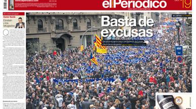 Barcelona clama pels refugiats