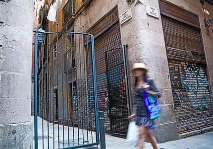 El blindaje de los puntos 39 invadidos 39 desv a la indigencia - Calle boqueria barcelona ...