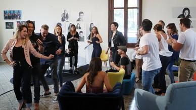 Imagen del programa de TVE-1 'OT: el reencuentro', el espacio m�s visto del domingo con 4.702.000 telespectadores (24,8%).