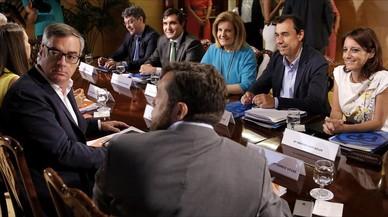 Tercera reuni�n de los equipos negociadores del PP y Ciudadanos