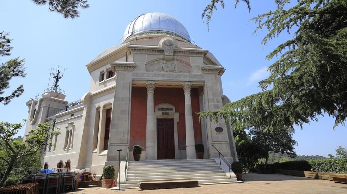 El Observatorio Fabra renace de color gris