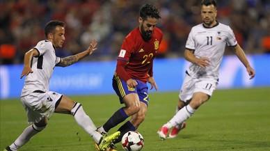 Espanya-Albània, en directe 'on line'