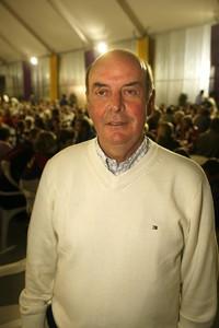 Chus Pereda, en un acto en Mallorca, en el 2007.