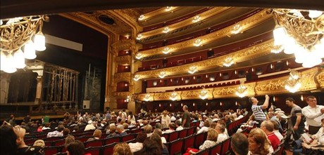 Imagen del interior del Liceu.