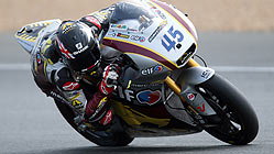 El britnico Scott Redding, en Le Mans. AFP
