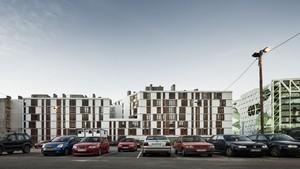 La promoción de 95 viviendas en Roc Boronat, distrito de Sant Martí, ha conseguido el Gran Premi a la Promoció Immobiliària més Sostenible 2012.