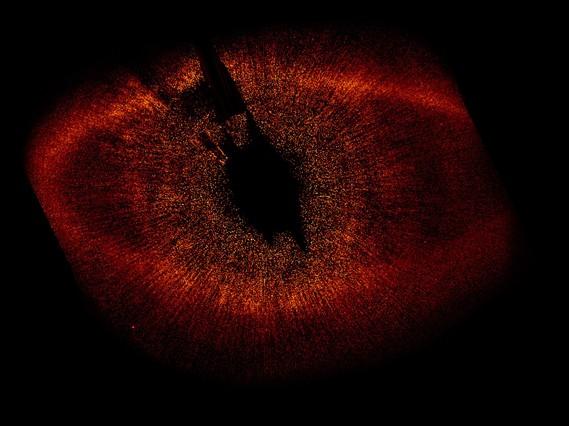 Nacimiento de una estrella (IRAS-Renacuajo) captado desde el <a href=