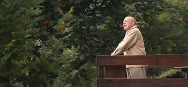 El 'expresident', en la residencia familiar de Queralbs, el 7 de agosto.