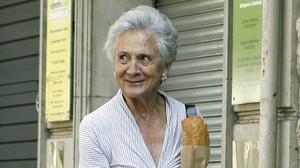 La esposa de Jordi Pujol, Marta Ferrusola, en Barcelona el pasado 25 de agosto.
