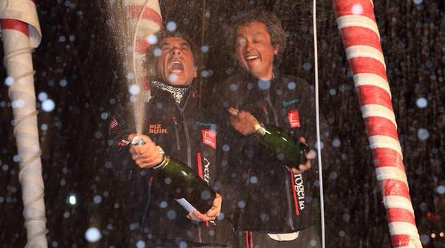 El 'Neutrogena' d'Altadill i Muñoz conquista el segon lloc de la Barcelona World Race