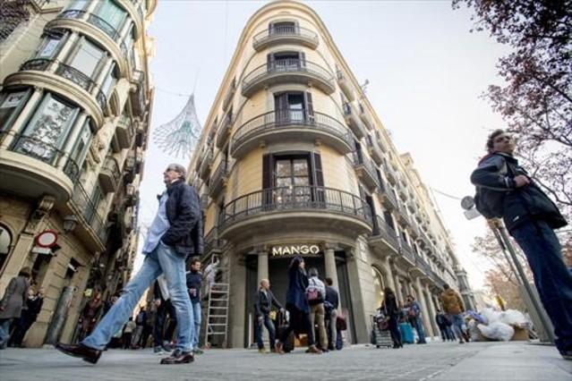Tienda de Mango en Barcelona.