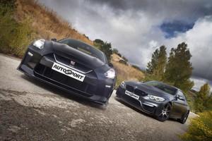 Nissan GT-R vs BMW M4 GTS