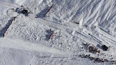 Almenys tres morts en una allau de neu als Alps francesos