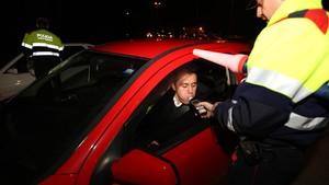 Control de alcoholemia en carretera