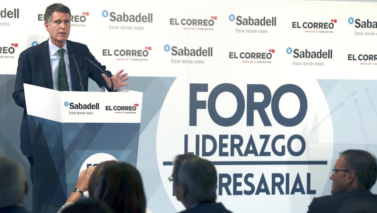 El consejero delegado del Banc Sabadell, Jaume Guardiola.
