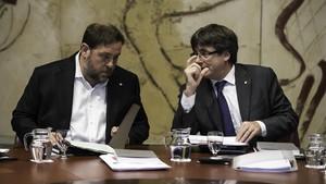 abertran40182934 barcelona 18 09 2017 politica reuni n del govern en la f170919110405