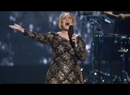 Adele, en una actuaci�n en Nueva York en diciembre del 2015.