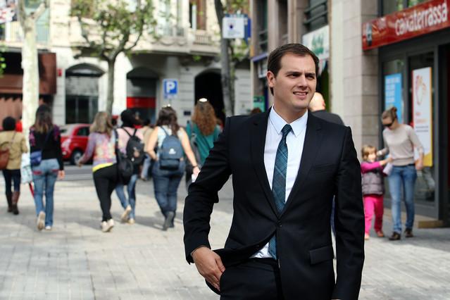 Rivera presenta l'espot electoral de Ciutadans