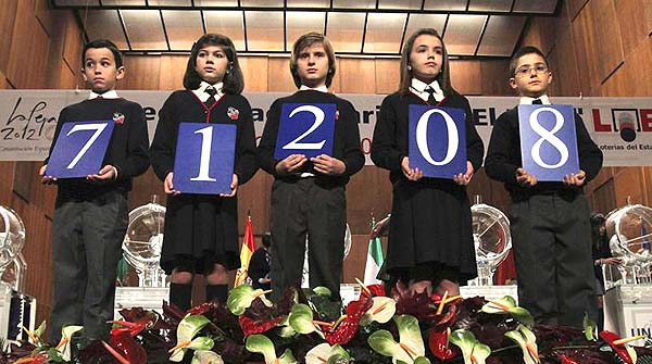 El 71.208, primer premi del sorteig del Nen