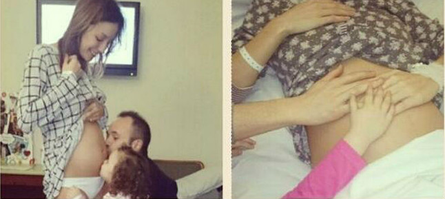 La mujer de Iniesta publica fotos de su embarazo