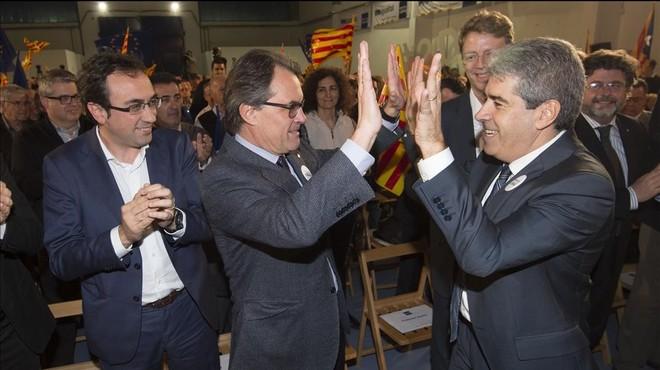 """Mas denuncia l'""""atròfia de lideratge"""" de Rajoy"""