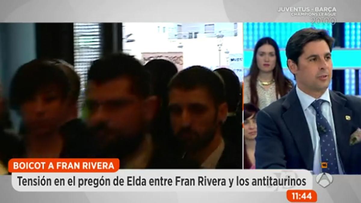 """Fran Rivera la vuelve a liar: """"Para ser antitaurino, ¿hay que dejar de ducharse?"""""""