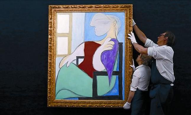 Picasso, estrella sin r�cord