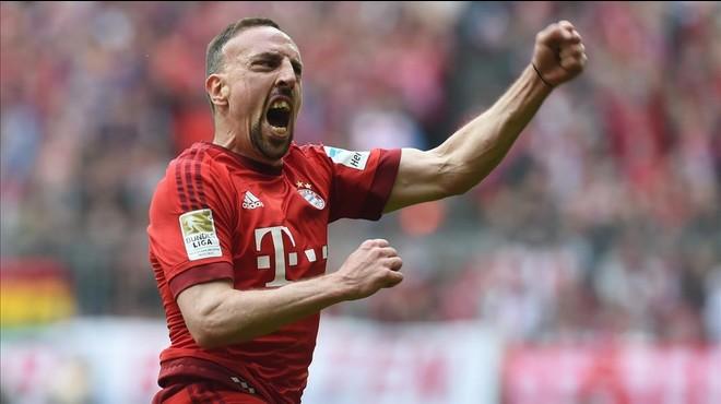 Un grandiós gol de Ribéry dóna el triomf al Bayern