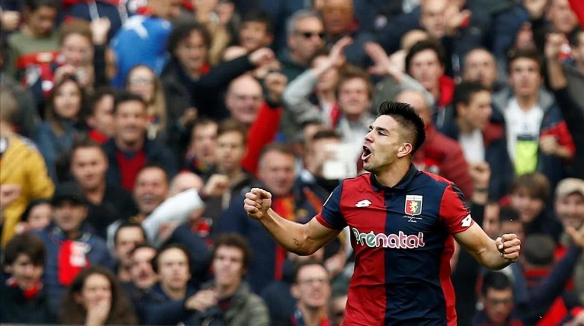 El 'Cholo' Simeone se emociona con el partidazo de su hijo ante la Juve